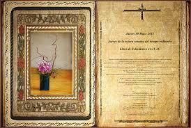 A Biblia kézirat egyik darabja